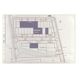 Porte-documents Favorit SUPERIOR - Pochette perforée - 300 x 220 mm - transparent (pack de 50)
