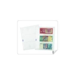 Porte-documents Favorit - Pochette perforée - 3 pochettes - transparent (pack de 25)
