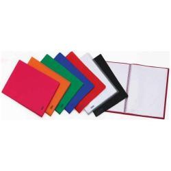 Boîte à archive Favorit - Porte vues - 100 pochettes - 220 x 300 mm - bleu foncé