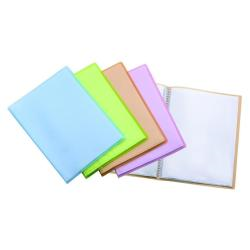 Boîte à archive Favorit EMOZIONI - Livre de présentation rechargeable - 40 pochettes - 220 x 300 mm - transparent