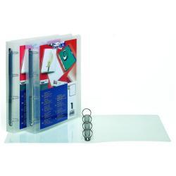 Boîte à archive Favorit HAWAI - Classeur à anneaux personnalisable - 40 mm - A4 - transparent