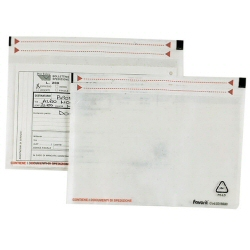 Enveloppe Favorit - Pochette de protection - 190 x 125 mm - translucide (pack de 100)
