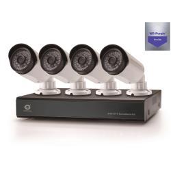 Conceptronic C8CCTVKITD1TB - DVR + caméra(s) - 8 canaux - 1 x 1 To - 4 caméra(s) - CMOS