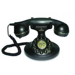 Téléphone fixe Brondi VINTAGE 10 - Téléphone filaire - noir