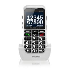 Foto Telefono cellulare Amicio Elegant 2 Bianco Brondi