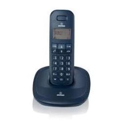 Téléphone fixe Brondi GALA - Téléphone sans fil avec ID d'appelant - DECT\GAP - noir