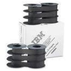 Ruban Lexmark - Pack de 6 - noir - 54 m - ruban d'impression - pour 6400