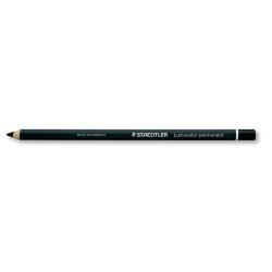 Porte mines STAEDTLER Lumocolor glasochrom - Crayon de couleur - permanent - noir