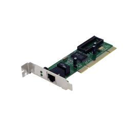 Adaptateur pour réseaux Nilox LOW PROFILE PCI LAN - Adaptateur réseau - PCI faible encombrement - Gigabit Ethernet
