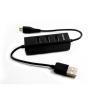 Hub Nilox - Nilox HUB 3P USB + MICROUSB...