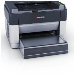 Imprimante laser Kyocera FS-1061DN - Imprimante - monochrome - Recto-verso - laser - A4/Legal - 1800 x 600 ppp - jusqu'à 25 ppm - capacité : 250 feuilles - USB 2.0, LAN
