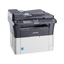 Imprimante laser multifonction Kyocera FS-1325MFP - Imprimante multifonctions - Noir et blanc - laser - Legal (216 x 356 mm) (original) - A4/Legal (support) - jusqu'� 25 ppm (impression) - 250 feuilles - 33.6 Kbits/s - USB 2.0, LAN