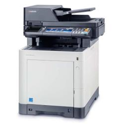 Imprimante laser multifonction Kyocera ECOSYS M6535cidn - Imprimante multifonctions - couleur - laser - Legal (216 x 356 mm)/A4 (210 x 297 mm) (original) - A4/Legal (support) - jusqu'à 35 ppm (copie) - jusqu'à 35 ppm (impression) - 350 feuilles - 33.6 Kbits/s - USB 2.0, Gigabit LAN, hôte USB