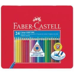 Faber-Castell GRIP 2001 - Crayon de couleur - couleurs assorties - pack de 24