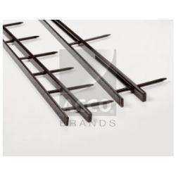 GBC SureBind - 50 mm - 10 anneaux - A4 (210 x 297 mm) - 500 feuilles - noir - 100 unités bandes à relier
