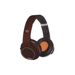Conceptronic CHSPBTSPKR - Casque avec micro - pleine taille - sans fil - Bluetooth - rouge
