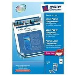 Papier Avery Zweckform Superior Colour Laser Paper 1298 - Papier photo - brillant - blanc - A4 (210 x 297 mm) - 170 g/m² - 200 feuille(s)
