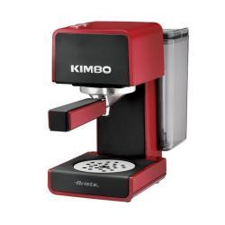 Expresso et cafetière Ariete Konsuelo 1364 Kimbo - Machine à café - 15 bar - rouge