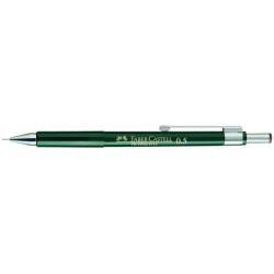 Porte mines Faber-Castell TK-FINE 9717 - Crayon rétractable - super polymère - HB - 0.7 mm - rétractable - avec gomme