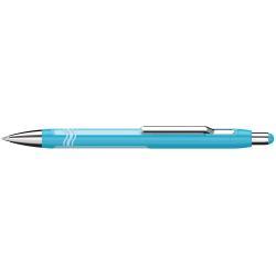 Stylo Schneider Epsilon - Stylo à bille - bleu - 1.4 mm - trait large - rétractable