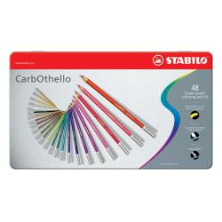 Stabilo CarbOthello - Crayon de couleur - chalk pastel - couleurs assorties - 4.4 mm - pack de 48