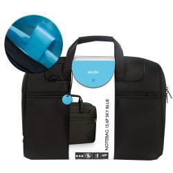 """Sacoche Nilox SKY - Sacoche pour ordinateur portable - 15.6"""" - noir, bleu"""