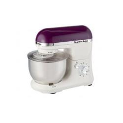 Robot pâtissier Ariete Gourmet Color 1594 - Batteur - 4 litres - 1000 Watt - violet