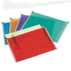 Porte-documents Rexel Colourful - Valisette à fermeture éclair - A4 - pour 300 feuilles - couleurs assorties