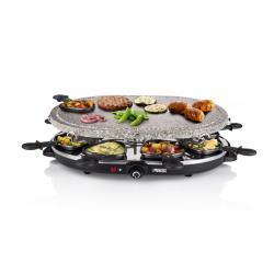 Princess Raclette 8 Oval Stone Grill Party - Raclette/pierre à griller - 1200 Watt