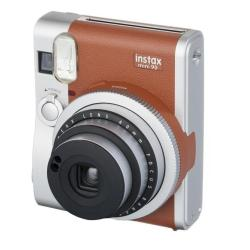Apareil photo analogique Fujifilm Instax Mini 90 NEO CLASSIC - Instantané - objectif : 60 mm - brun