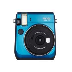 Apareil photo analogique Fujifilm Instax Mini 70 - Instantané - objectif : 60 mm - bleu