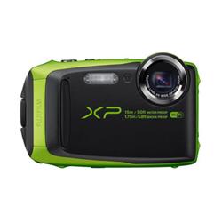 Appareil photo Fujifilm FinePix XP90 - Appareil photo numérique - compact - 16.4 MP - 1080p / 60 pi/s - 5x zoom optique - Fujinon - Wi-Fi - sous-marin jusqu'à 15 m - citron vert