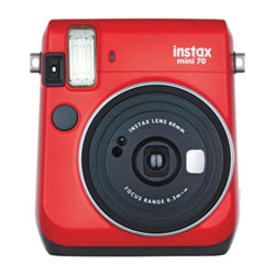 Apareil photo analogique Fujifilm Instax Mini 70 - Instantané - objectif : 60 mm - rouge