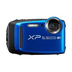 Appareil photo Fujifilm FinePix XP120 - Appareil photo numérique - compact - 16.4 MP - 1080p / 60 pi/s - 5x zoom optique - Fujinon - Wi-Fi - sous-marin jusqu'à 20 m - bleu
