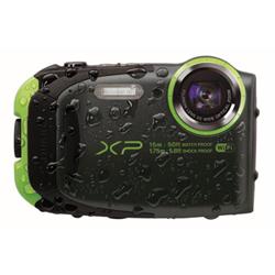 Appareil photo Fujifilm FinePix XP120 - Appareil photo numérique - compact - 16.4 MP - 1080p / 60 pi/s - 5x zoom optique - Fujinon - Wi-Fi - sous-marin jusqu'à 20 m - citron vert