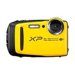 Appareil photo Fujifilm FinePix XP120 - Appareil photo numérique - compact - 16.4 MP - 1080p / 60 pi/s - 5x zoom optique - Fujinon - Wi-Fi - sous-marin jusqu'à 20 m - jaune