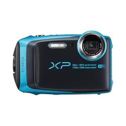 Appareil photo Fujifilm FinePix XP120 - Appareil photo numérique - compact - 16.4 MP - 1080p / 60 pi/s - 5x zoom optique - Fujinon - Wi-Fi - sous-marin jusqu'à 20 m - bleu ciel
