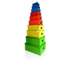 Boîte à archive MOLHO LEONE funny gift - Jeu de boîtes de rangement - couleurs assorties