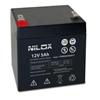 Batteria Nilox - Batteria ups 5ah 12v