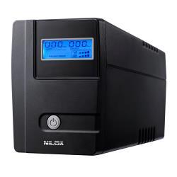 Gruppo di continuità Nilox - Ups value lcd 840va/420w