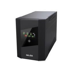 UPS onduleur Nilox SineWave LCD 1400 - Onduleur - USB
