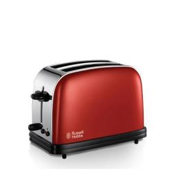Grille pain Russell Hobbs Colors 18951-56 - Grille-pain - 2 tranche - 2 Emplacements - rouge flamboyant
