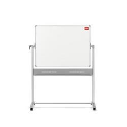 Tableau Nobo - Tableau blanc - sur pied - 1500 x 1200 mm - acier - magnétique - double face - réversible - mobile
