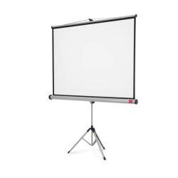 Écran pour vidéoprojecteur NOBO - Écran de projection avec trépied - 71 po (180.5 cm) - 4:3 - Matte White