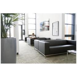 Nobo - Tableau d'affichage inclus - montable au mur - 9 x A4 - acier - magnétique - blanc