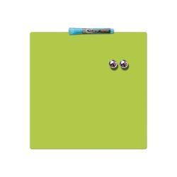 Tableau Quartet - Tableau blanc - carré - 360 x 360 mm - magnétique - vert