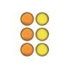 Quartet - Rexel - Aimant - jaune, violet,...
