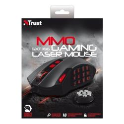 Mouse Trust - Gxt 166 mmo gaming laser mouse