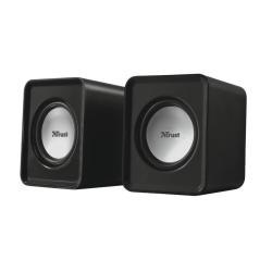 Enceinte PC Trust Leto 2.0 Speaker Set - Haut-parleurs - pour PC - 3 Watt (Totale)