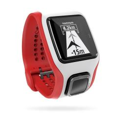 Sportwatch Tom Tom - Runner Cardio White/Red